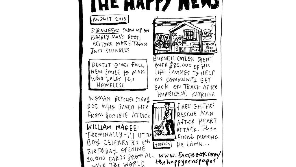 The Happy Newspaper project video thumbnail