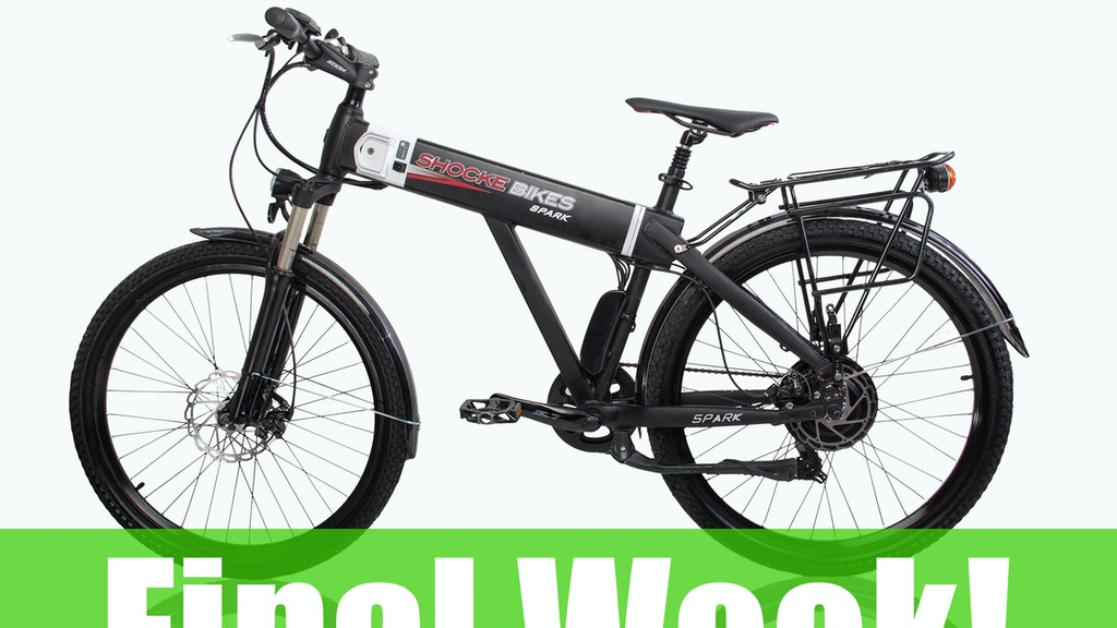Spark - A Truly Affordable Fully Equipped Electric Bike! project video thumbnail
