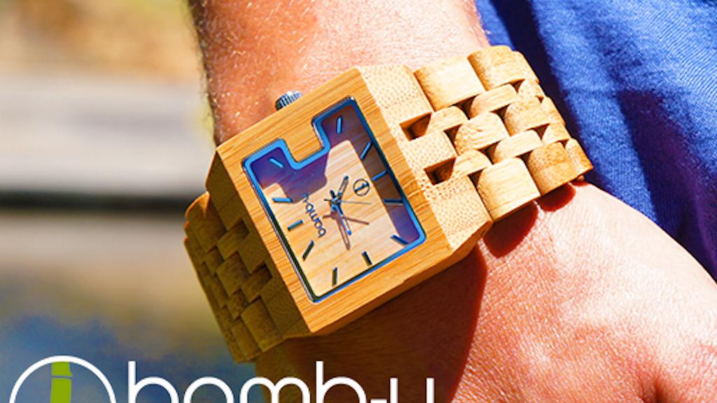 bamb-u watches - beautiful, natural, precise project video thumbnail