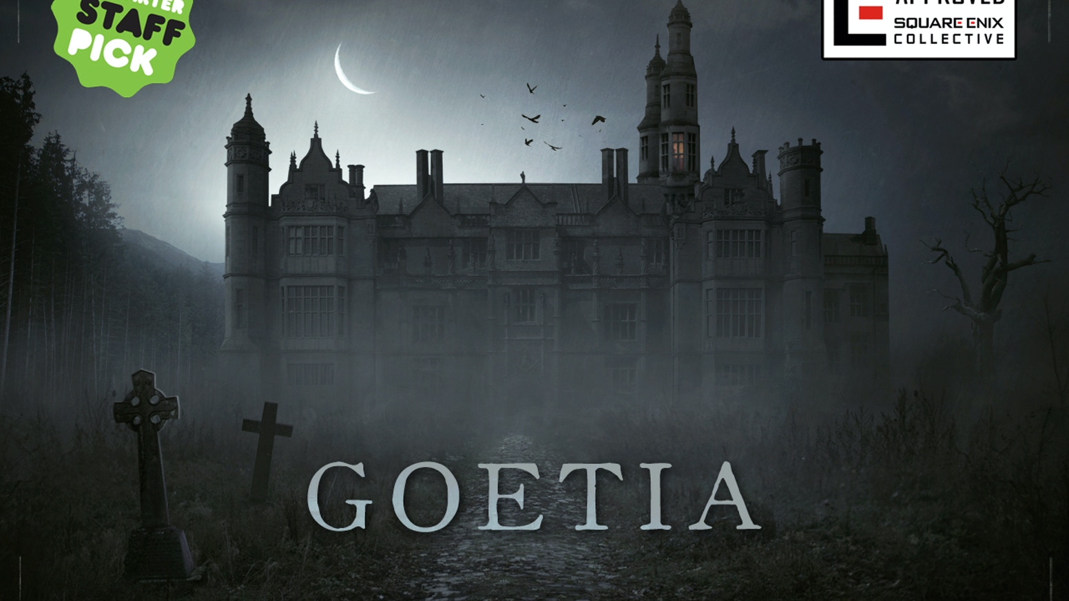Goetia is a point & click mystery adventure. Guide Abigail, a ghostly young girl, in her quest to discover why she's back from the dead