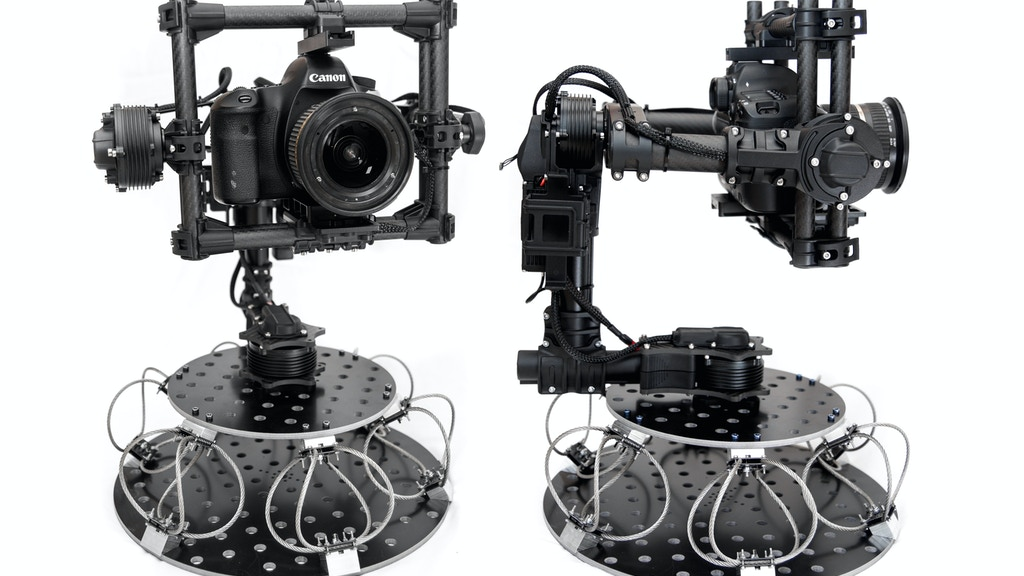 Stabilized Camera Gimbal Vibration Isolator Mount project video thumbnail