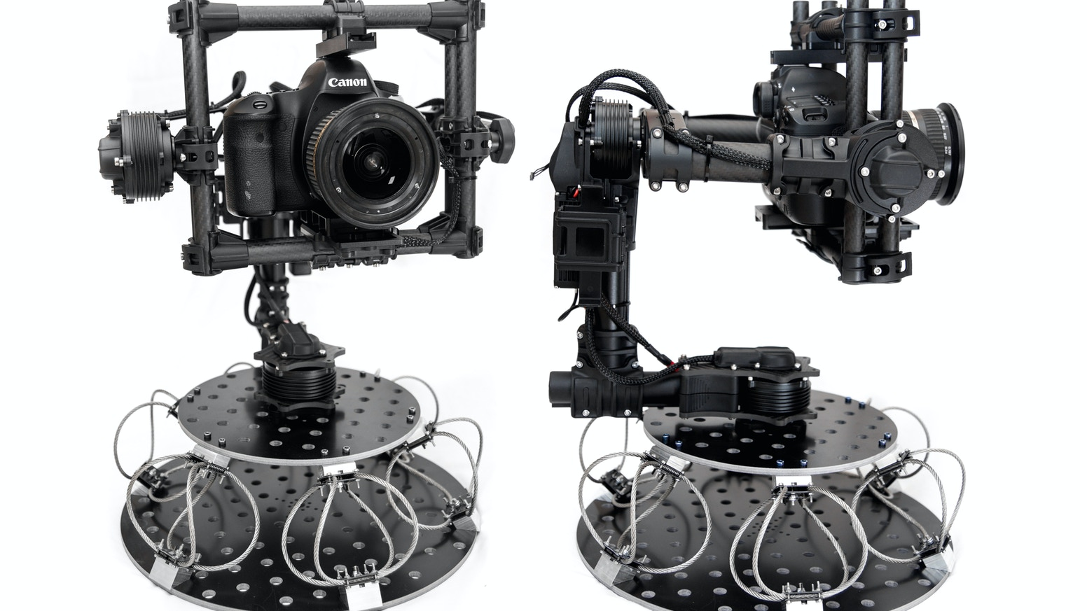 The Cinema Vibration Isolator helps remove vibration and mechanical stress from camera gimbals mounted on vehicles.