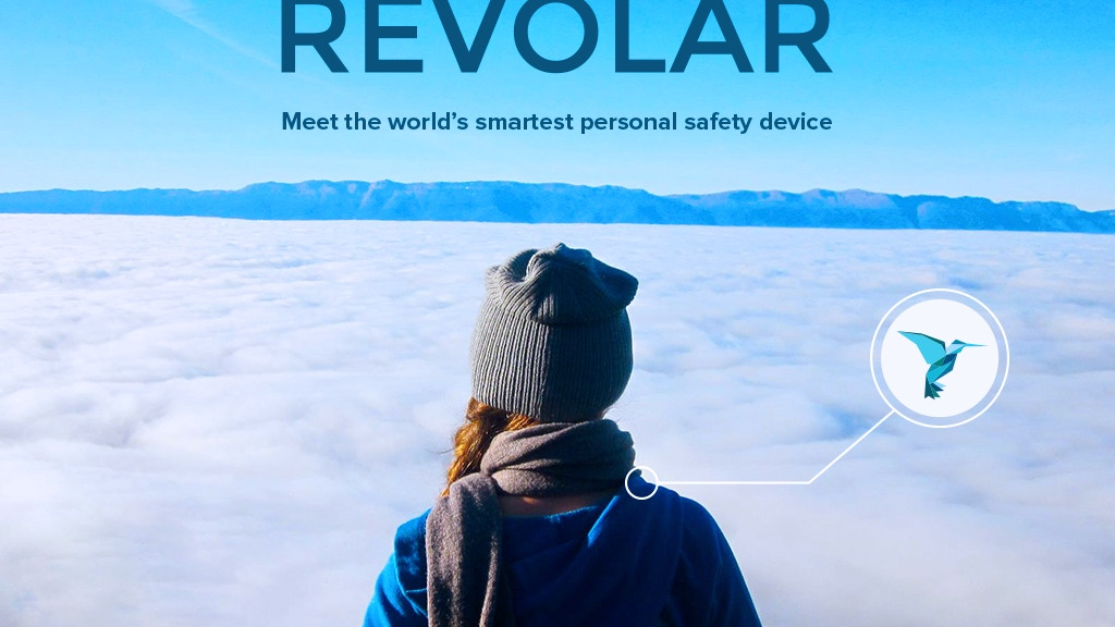 Revolar- Meet the world's smartest personal safety device! project video thumbnail