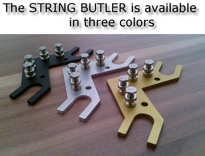 """The """"String Butler"""" colors"""
