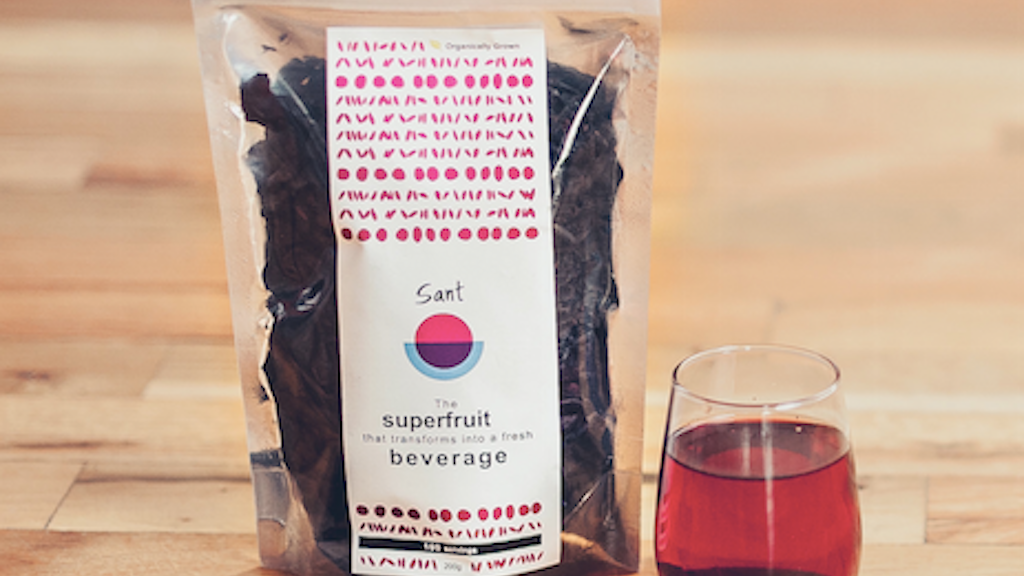 Sant - dried superfruit infuses into a fresh beverage project video thumbnail
