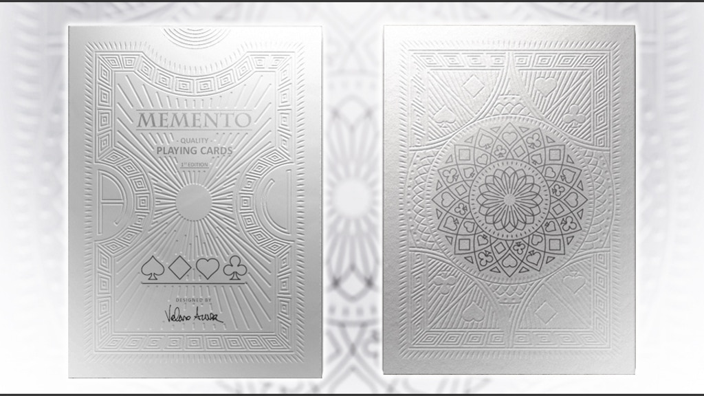 A historically inspired deck of playing cards designed by Valerio Aversa, and printed by Legends Playing Card Company