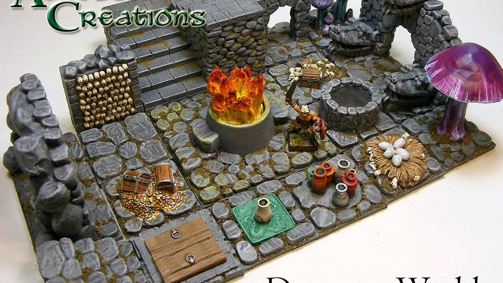 Dungeon Worlds project video thumbnail