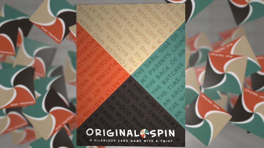 Original Spin: The ONLY Party Game for 2+ Players project video thumbnail