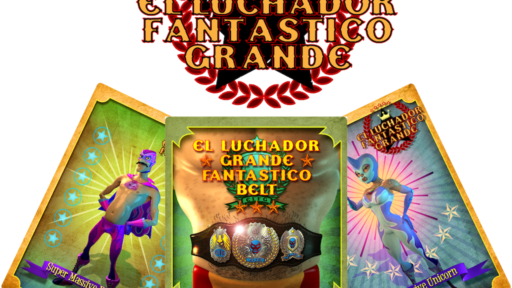 El Luchador Fantastico Grande, Dice and Card Brawler! project video thumbnail