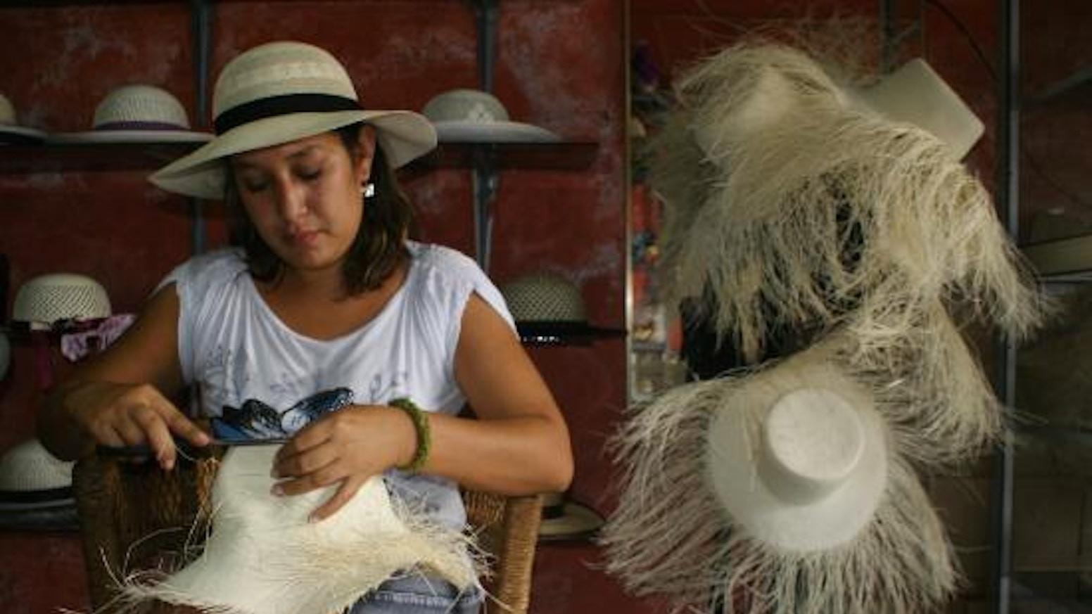 Put the Turkey Back Into the Straw Hat Biz! Panama Hats by