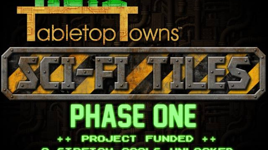 Tabletop Towns - SciFi Tiles Phase One project video thumbnail