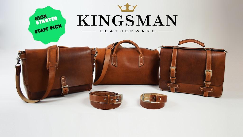 Kingsman Leatherware | Premium Bags, Belts & Accessories project video thumbnail