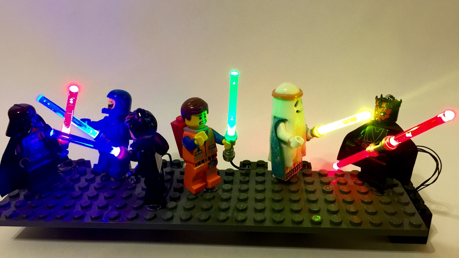 Lego Star Wars Lightup Lightsabers
