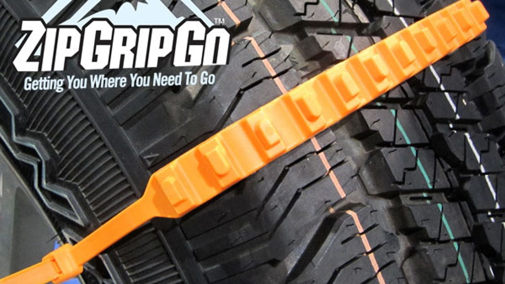 ZipGripGo - Emergency Traction Aid for Snow, Ice or Mud project video thumbnail