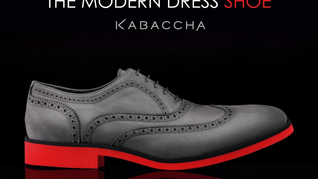 Redefining the Modern Dress Shoe project video thumbnail