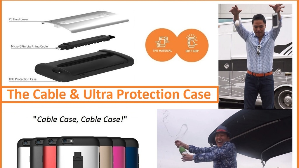 Patented Design Apple iPhone 6 & Plus Lightning CABLE CASE project video thumbnail