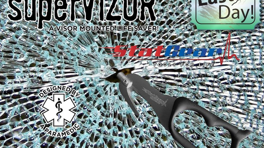 The SuperVizor - A Visor Mounted Lifesaver! project video thumbnail