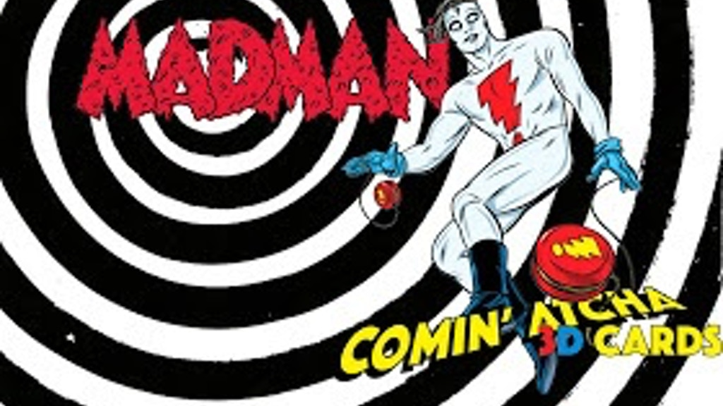 Madman Comin' Atcha 3D Trading Cards! project video thumbnail