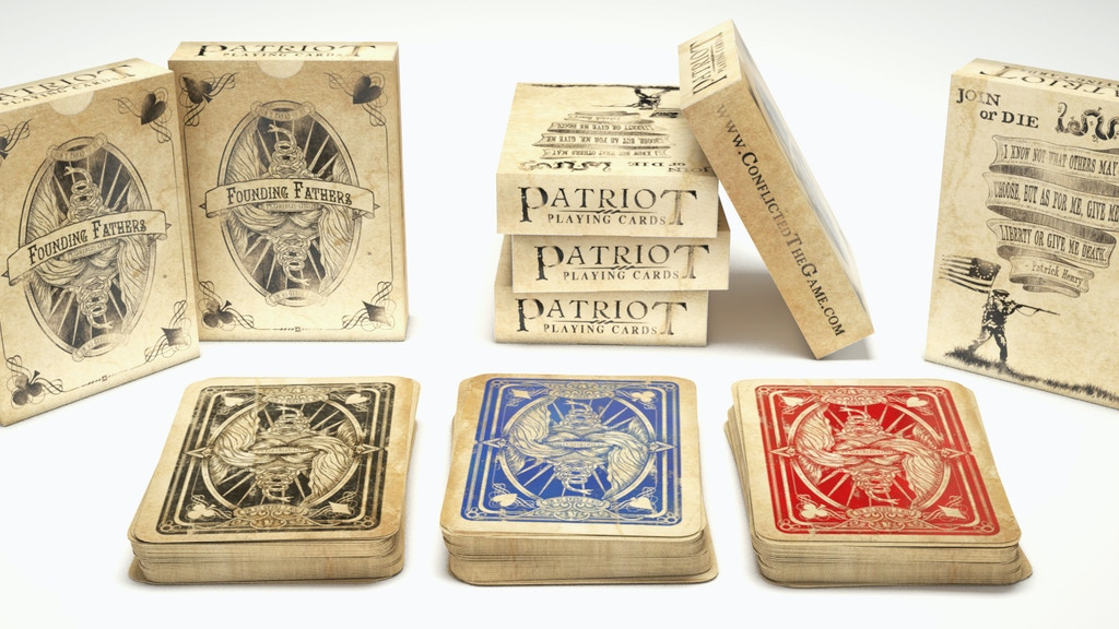 Patriot Playing Cards project video thumbnail