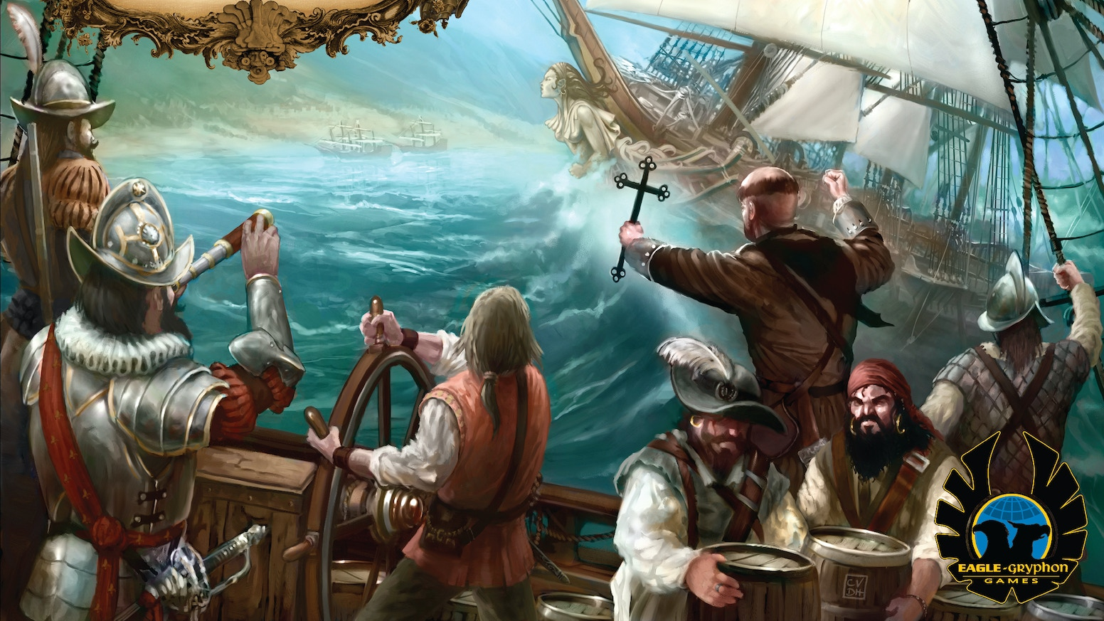 Age of Empires III becomes Empires: Age of Discovery, the Deluxe Edition! 24 Stretch Goals achieved, and $241,958 pledged!