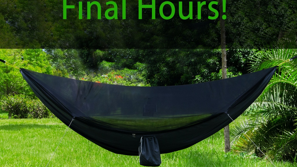 The GO! Hammock: Amazingly Comfortable, Durable & Portable project video thumbnail