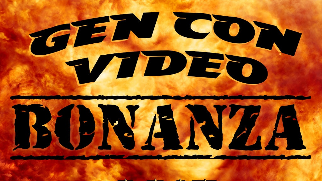 Bower's Game Corner presents: Gen Con Video Bonanza 2015 project video thumbnail