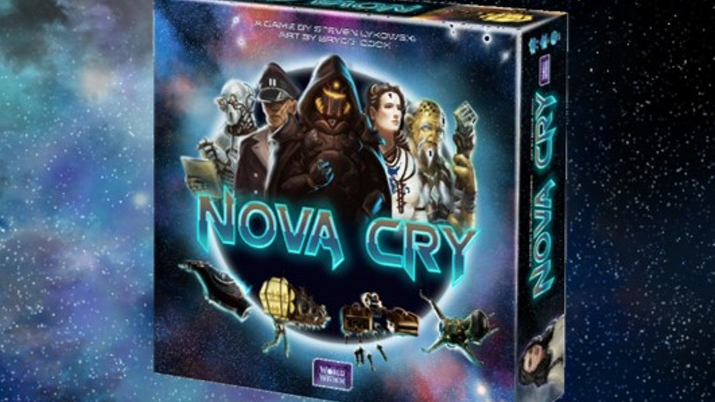Nova Cry: Redux--A 30-Minute Sci-Fi Card Game project video thumbnail