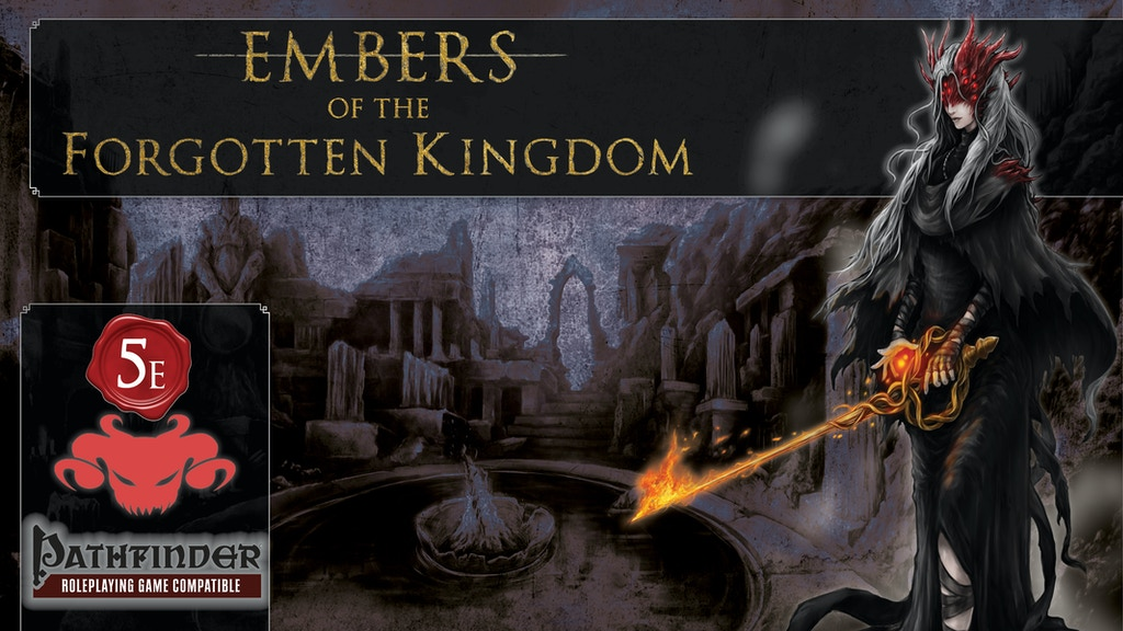 Project image for Embers of the Forgotten Kingdom (Canceled)