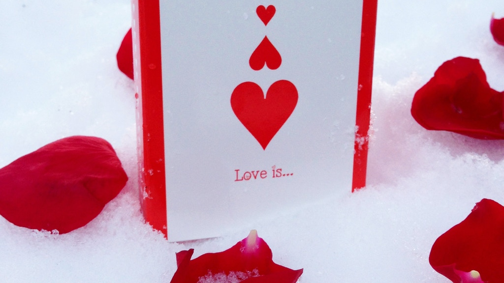 """Project image for """"Love is..."""" Playing Cards (Canceled)"""