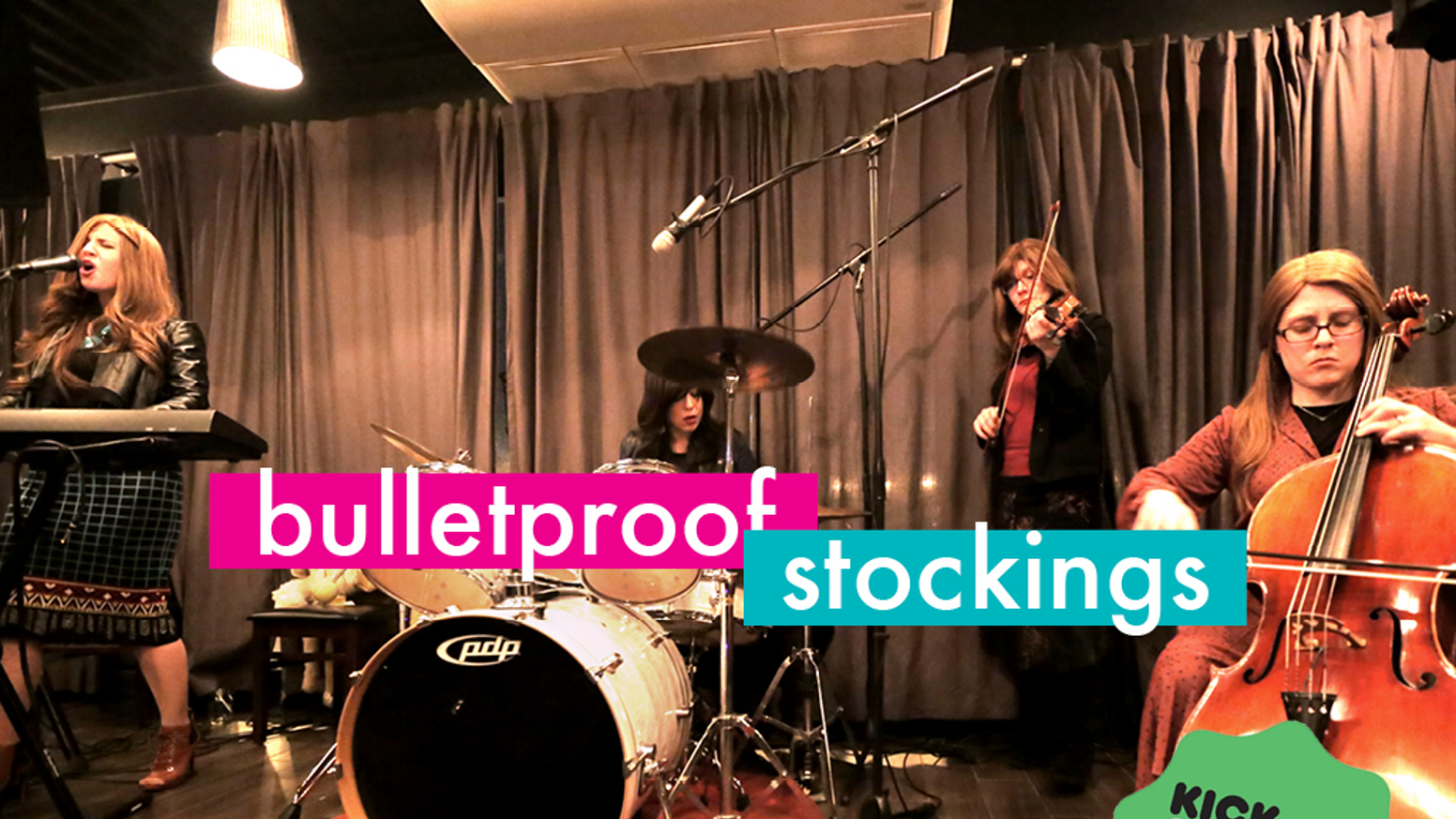 Help this all-woman Hasidic rock band get their brilliant songs down on their first full-length record.