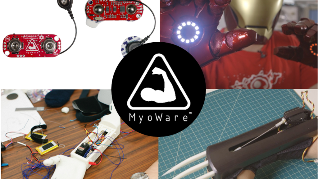 MyoWare™   Harness the power of your muscle signals! project video thumbnail