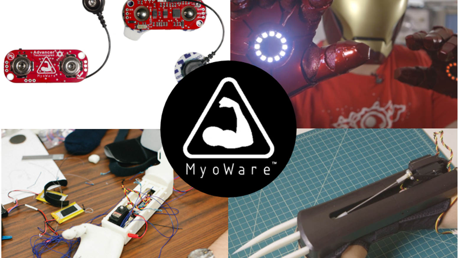 Wearable Muscle Sensor Platform - 4th-gen sensor - Arduino compatible - Control robots, prosthetics, video games, & more!