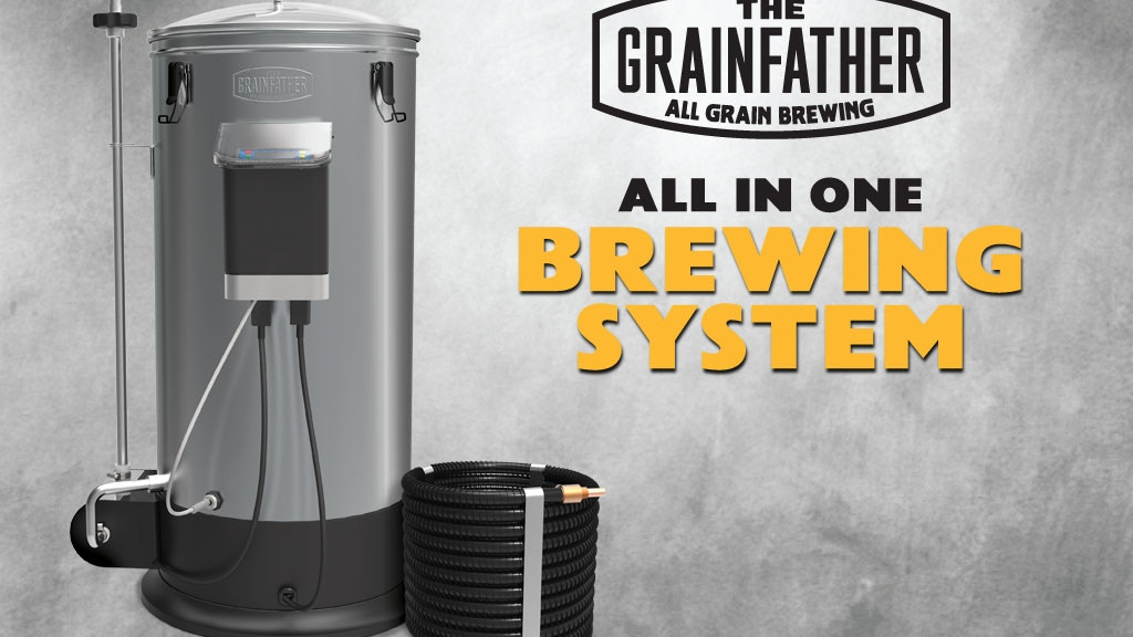 The Grainfather - All in One, All Grain Brewing System project video thumbnail