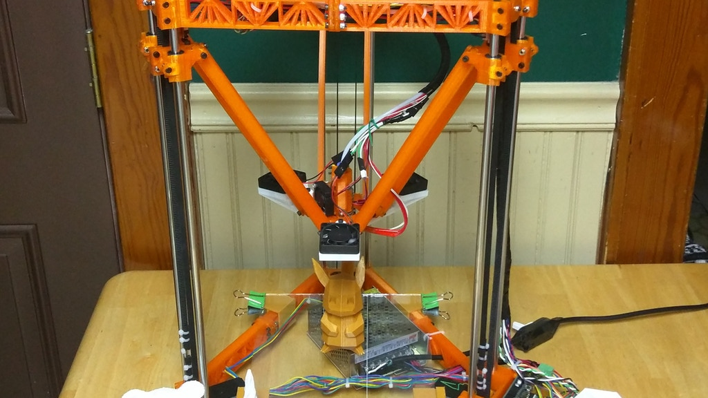Project image for Thingystock - The Expandable, Open Delta 3D Printer