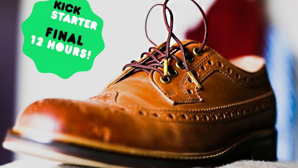 Bondi Laces- Unbreakable shoelaces that look good & do good project video thumbnail