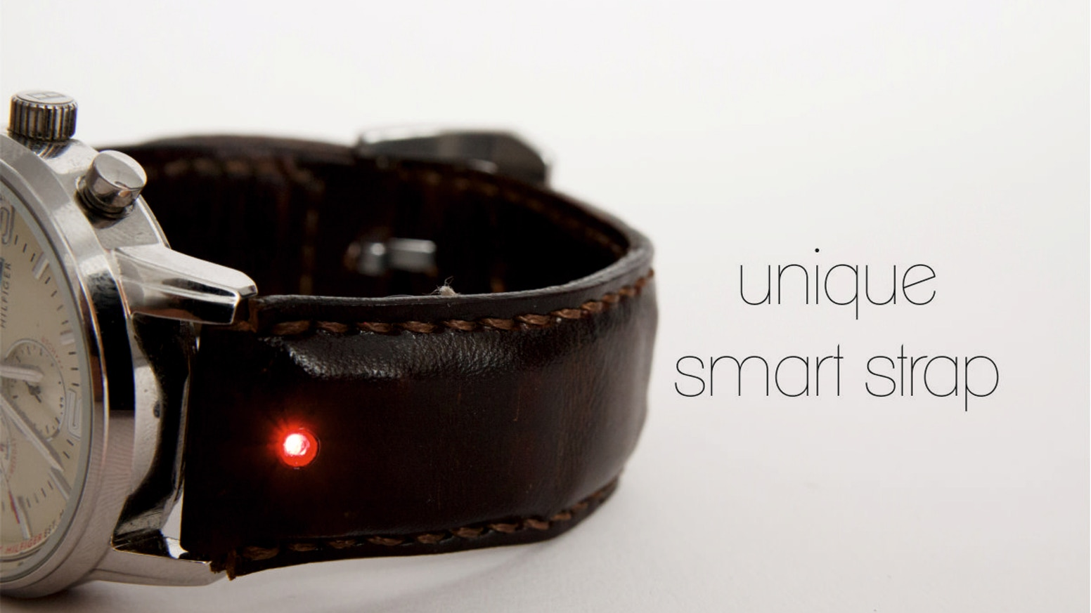Turn your classic watch into a smartwatch with Unique, the revolutionary watch strap.
