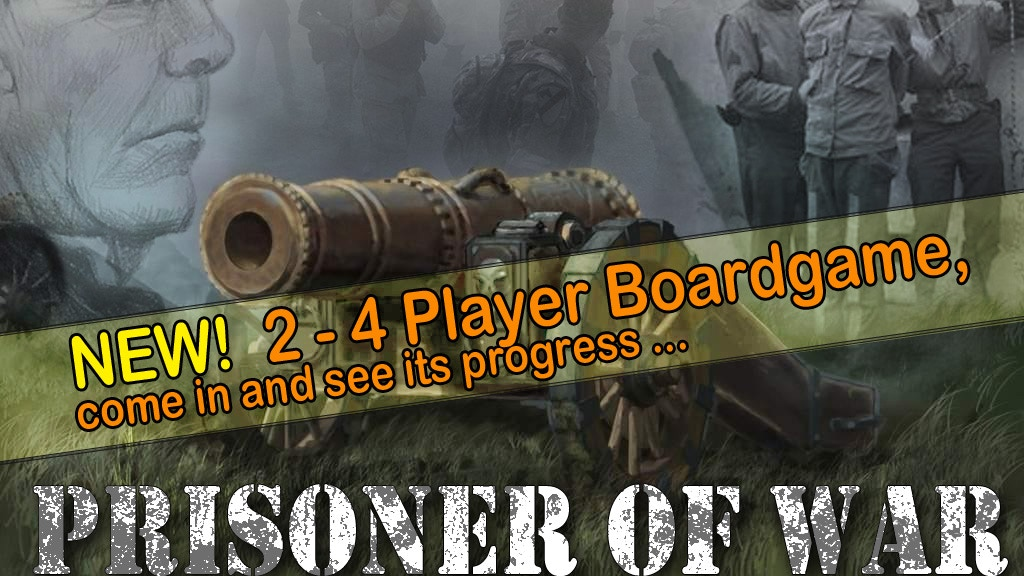 Project image for Prisoner of War - NEW - Multiplayer Boardgame (Canceled)