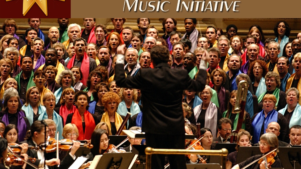 Global Choir & Orchestra Music Initiative project video thumbnail