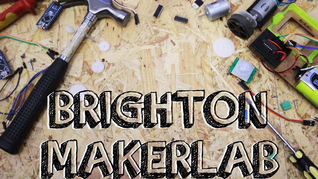 The Brighton Makerlab - where technology meets awesome! project video thumbnail