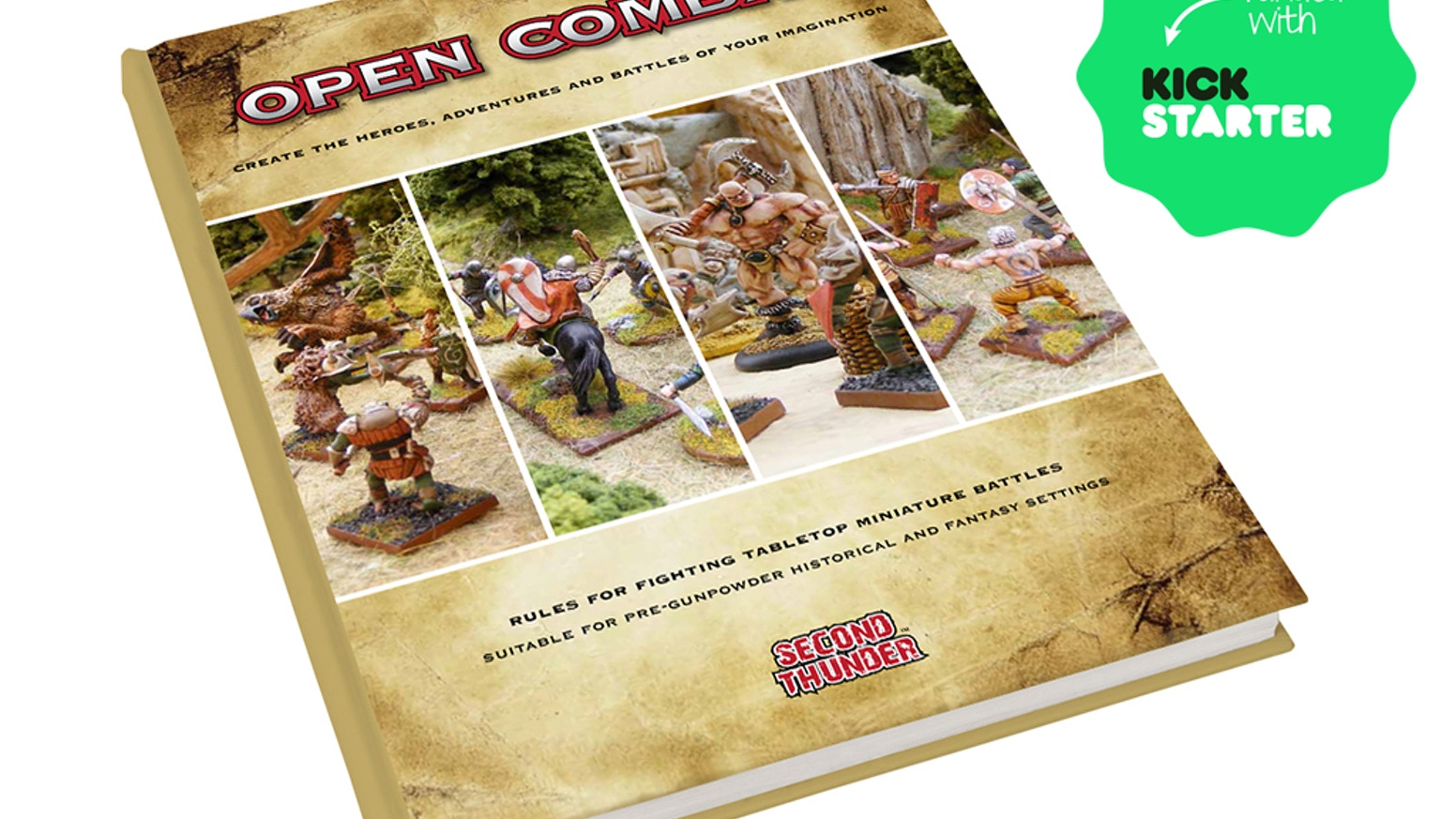 Open Combat - create the heroes, adventures and battles of your imagination.