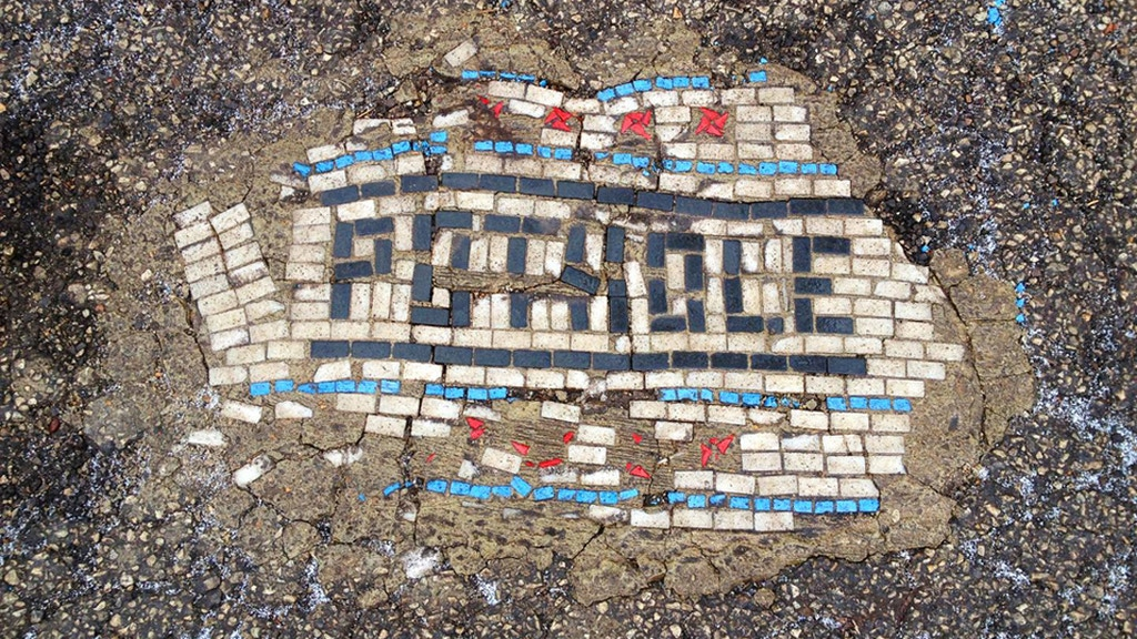 THE 2015 Pothole Art Installation Project project video thumbnail