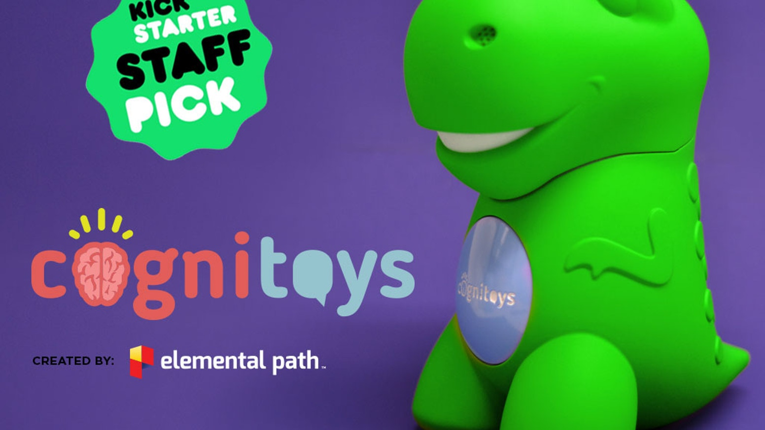 Thanks to our amazing backers for making the CogniToys Dino a reality. Dino has now found a forever home in over 100 countries!