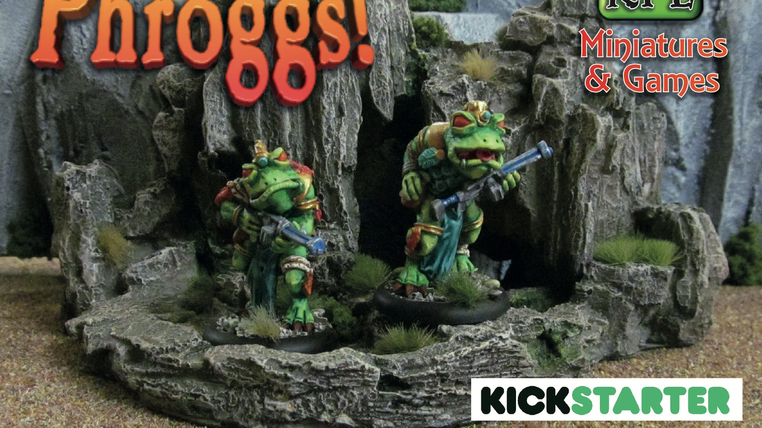 A range of sci-fi amphibian miniatures with an old school aesthetic in 28mm for tabletop wargaming