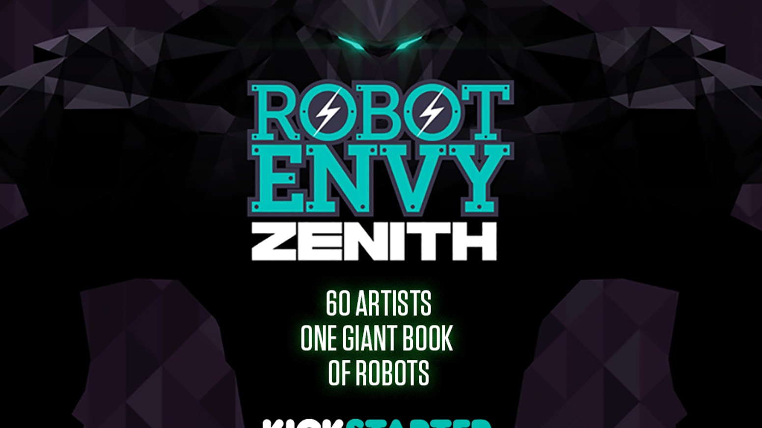 60+ artists. One giant robot book! Order now!