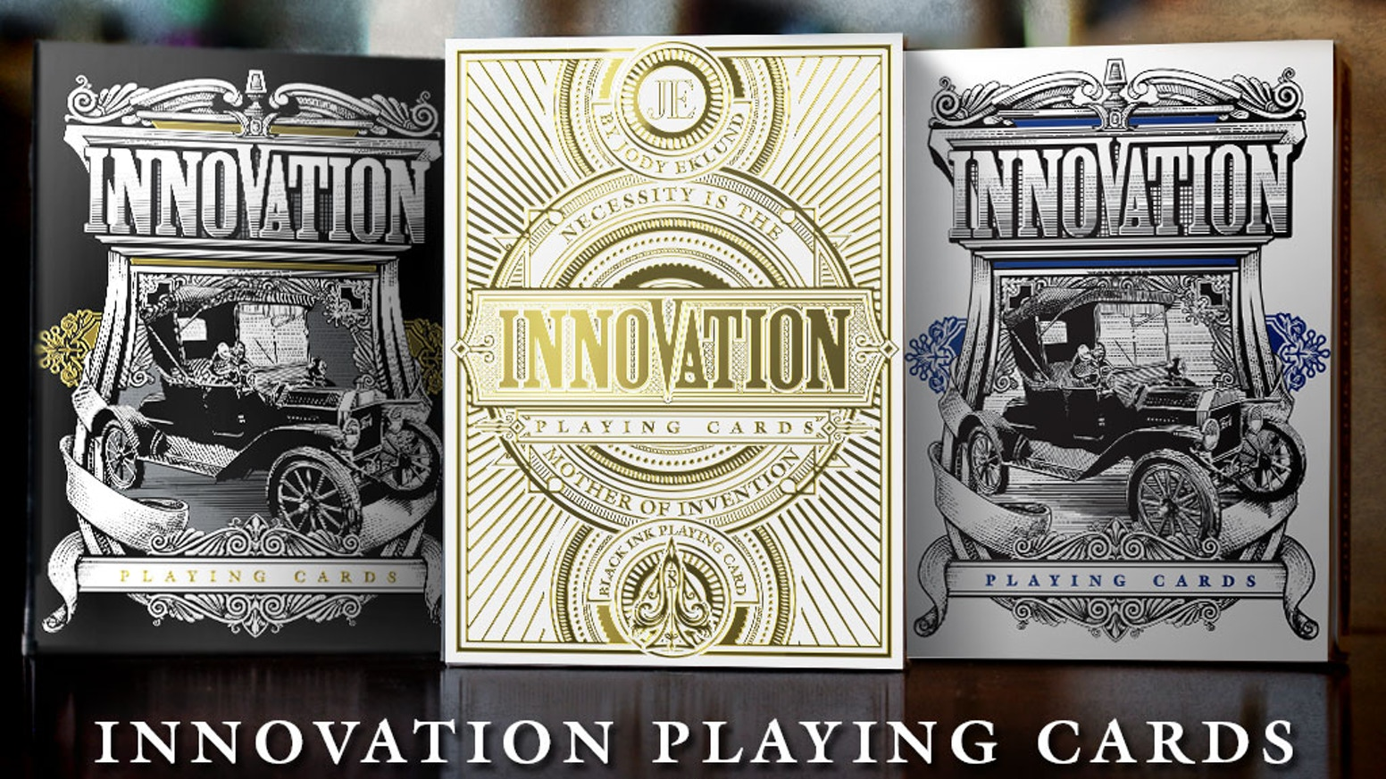 Completely custom illustrated decks of the men and women who changed the world.