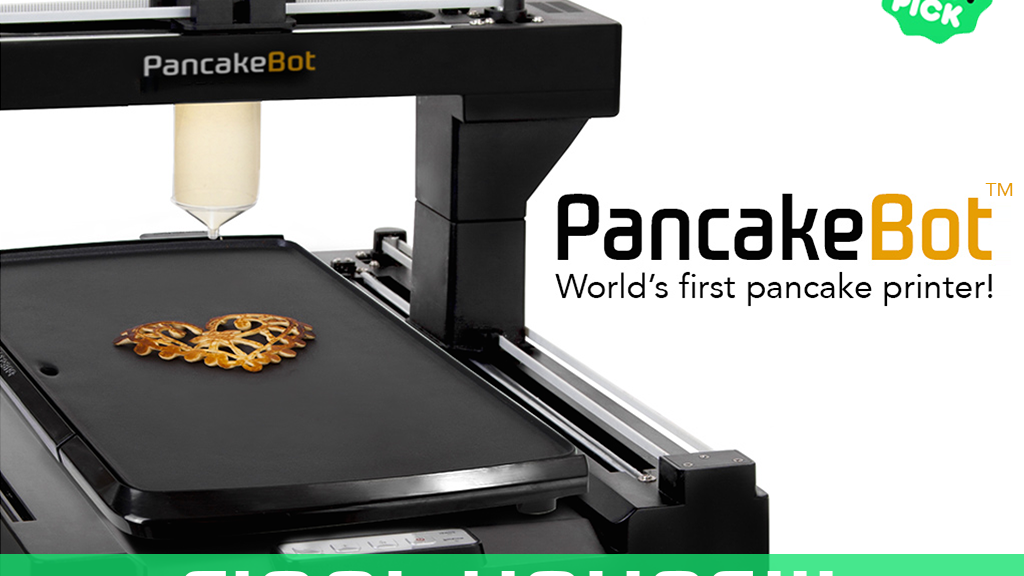 PancakeBot - The world's first pancake printer! project video thumbnail