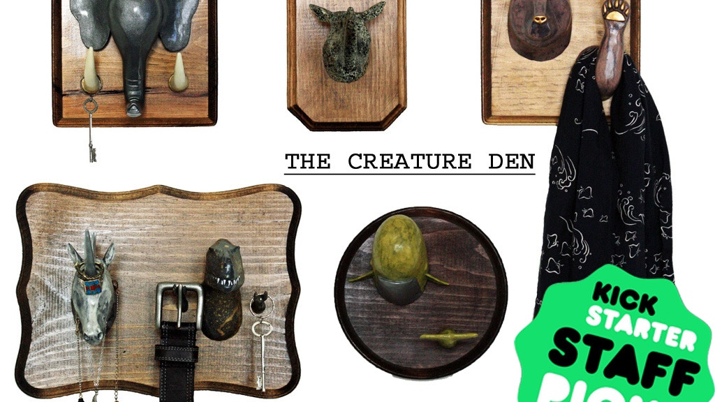 The Creature Den - A Menagerie of Useful Goods project video thumbnail