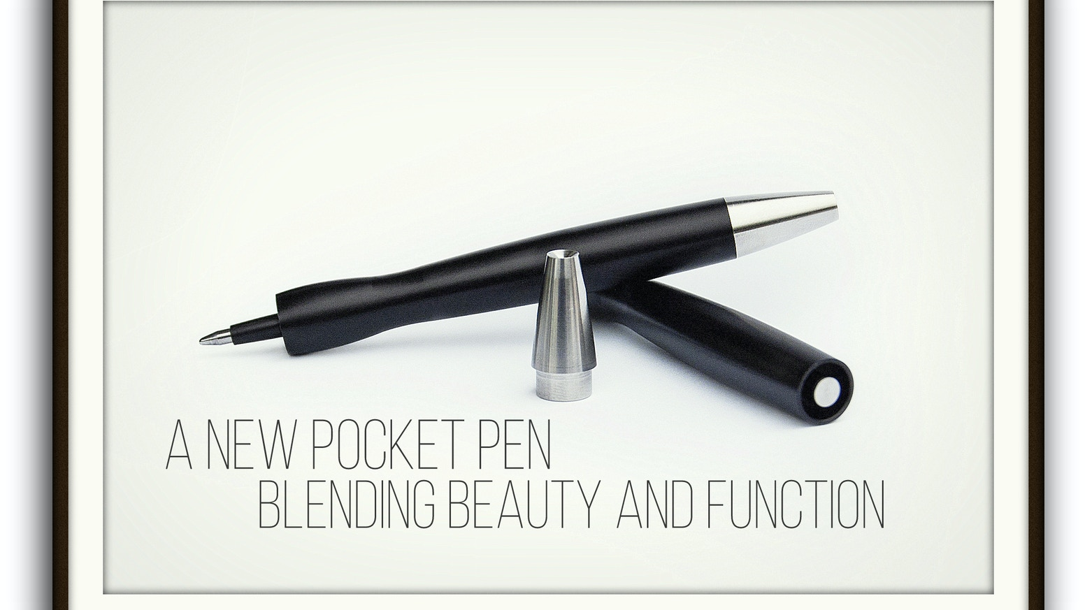 A fresh take on a small, fully machined pocket pen designed to take the abuse of everyday carry in style.