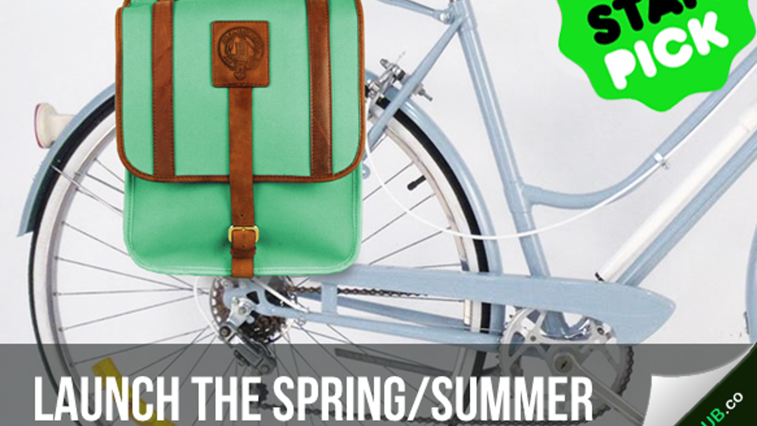 Launch the Spring collection of our canvas & leather bike panniers in awesome, vivid colors. Add visibility and color to your commute!