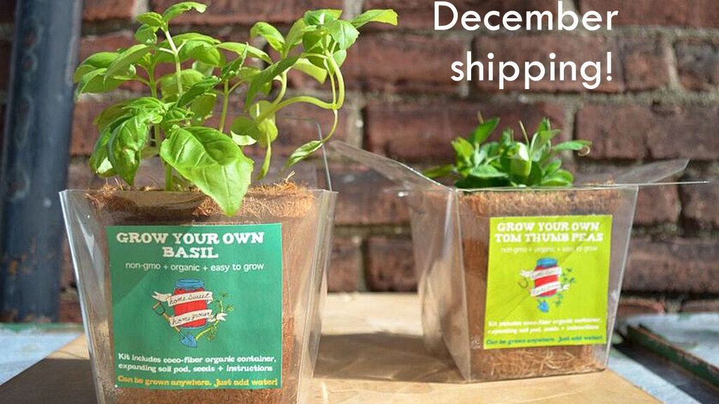 Takeout grow kits grow fresh organic food anywhere by for Food s bar unloc